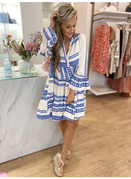 PC Elora Ibiza Dress Royal Blu