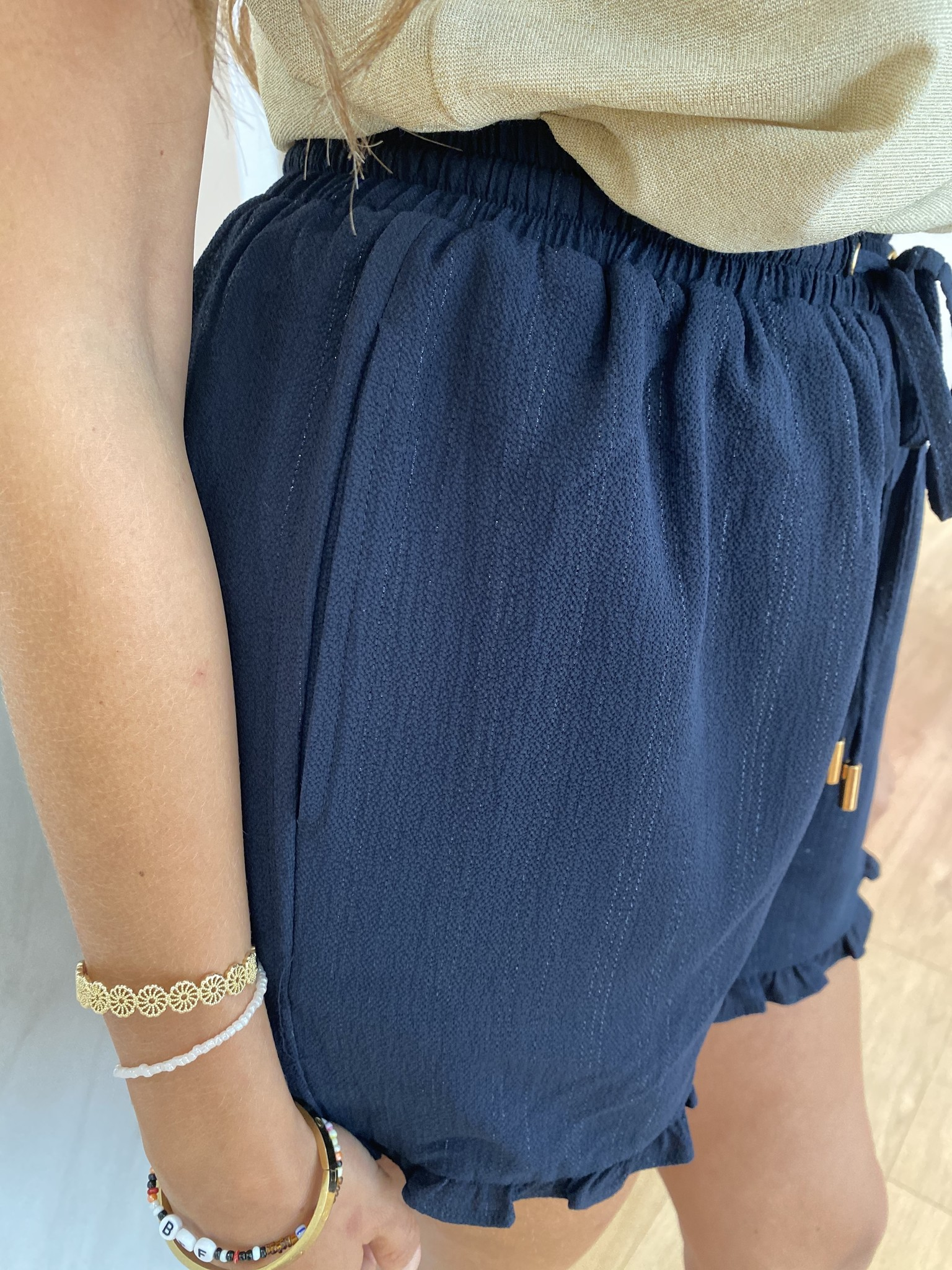 MN Julie Shorts Dark Blue