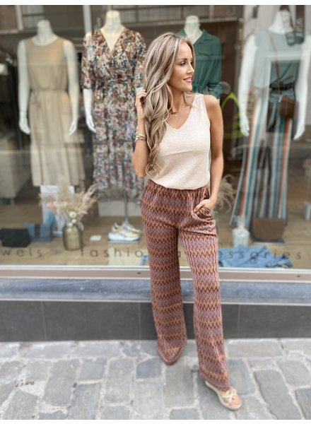 MN Lorena Pants Brown Sugar