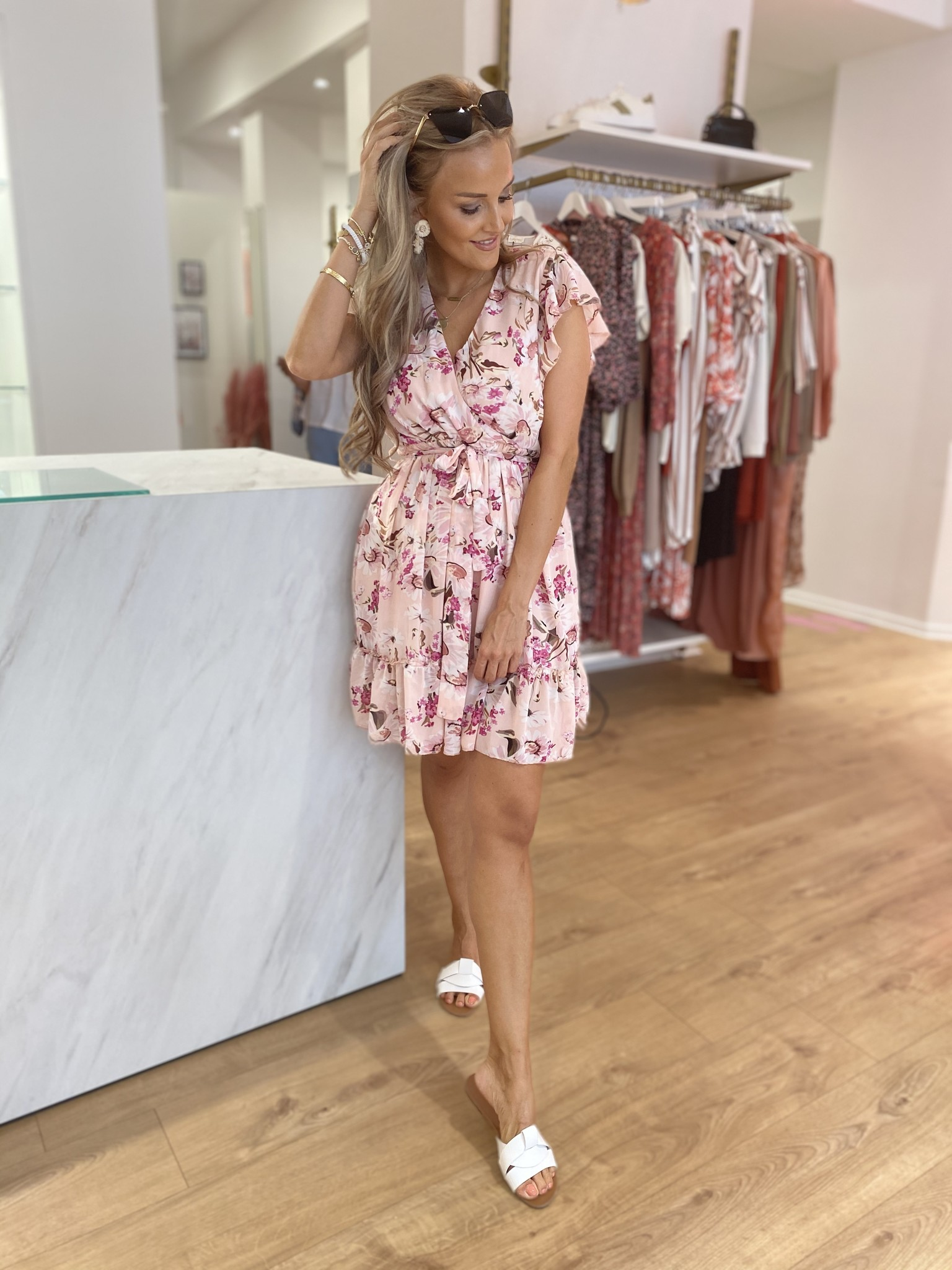 JM In To You Summer Dress Pink