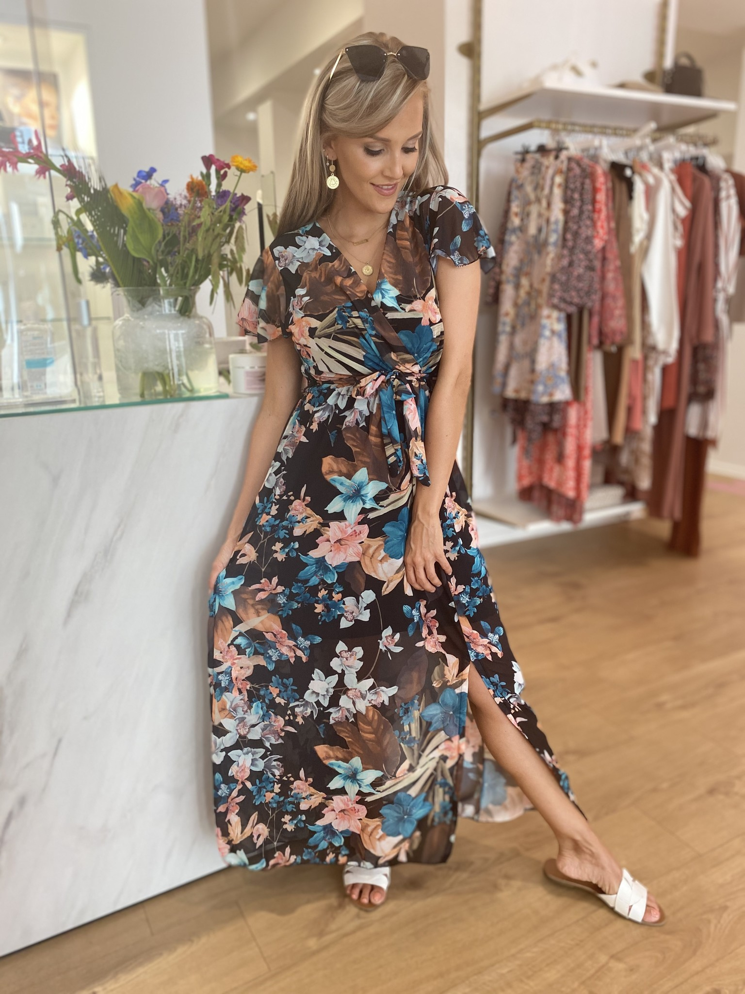 TS All Summer Long Black Dress
