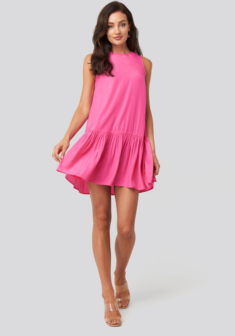 RC Aline Dress Fuchsia