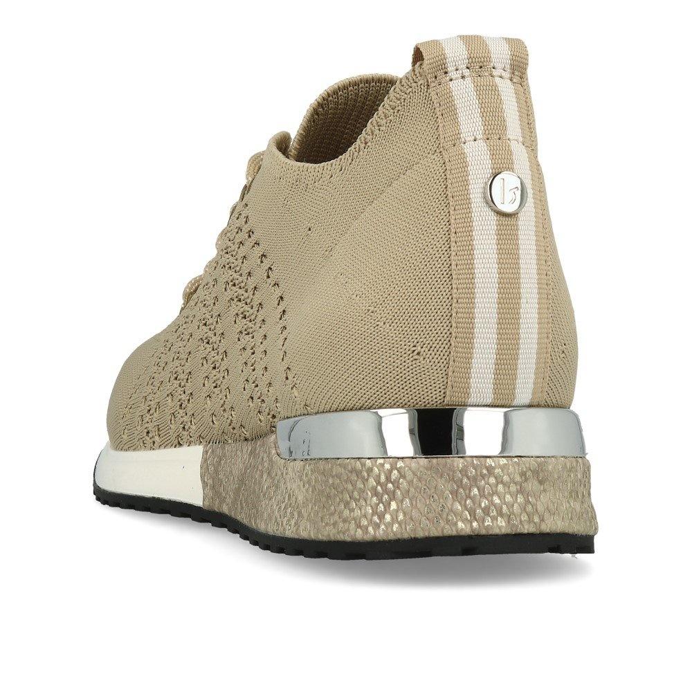 LS Knitted Beige Sneaker