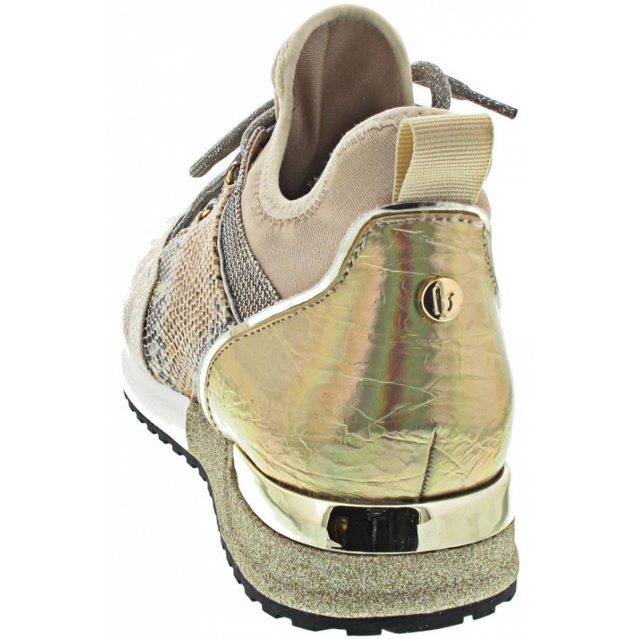 LS Cracked Gold Sneaker