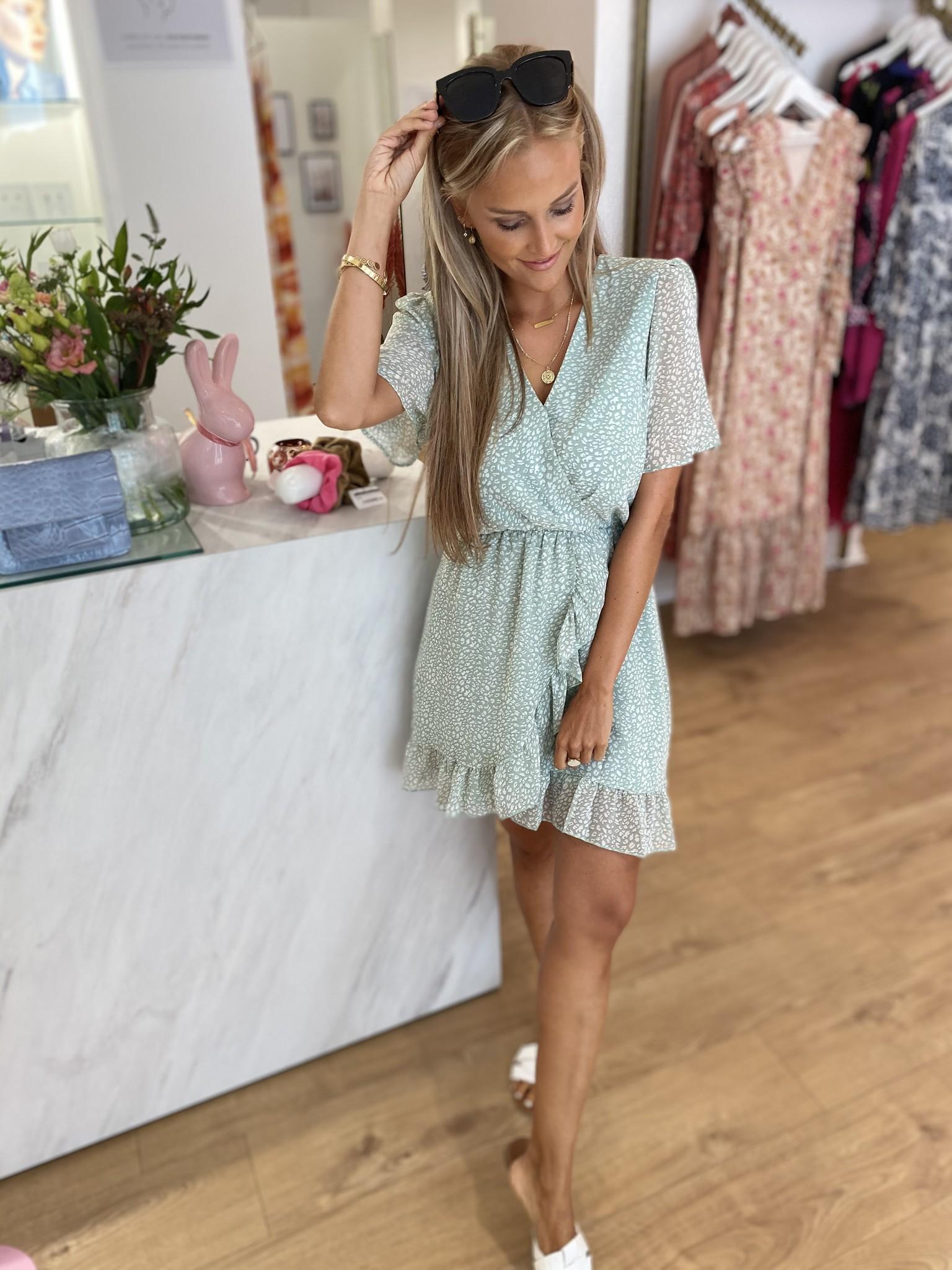 YW Pastel Leopard Crush Dress