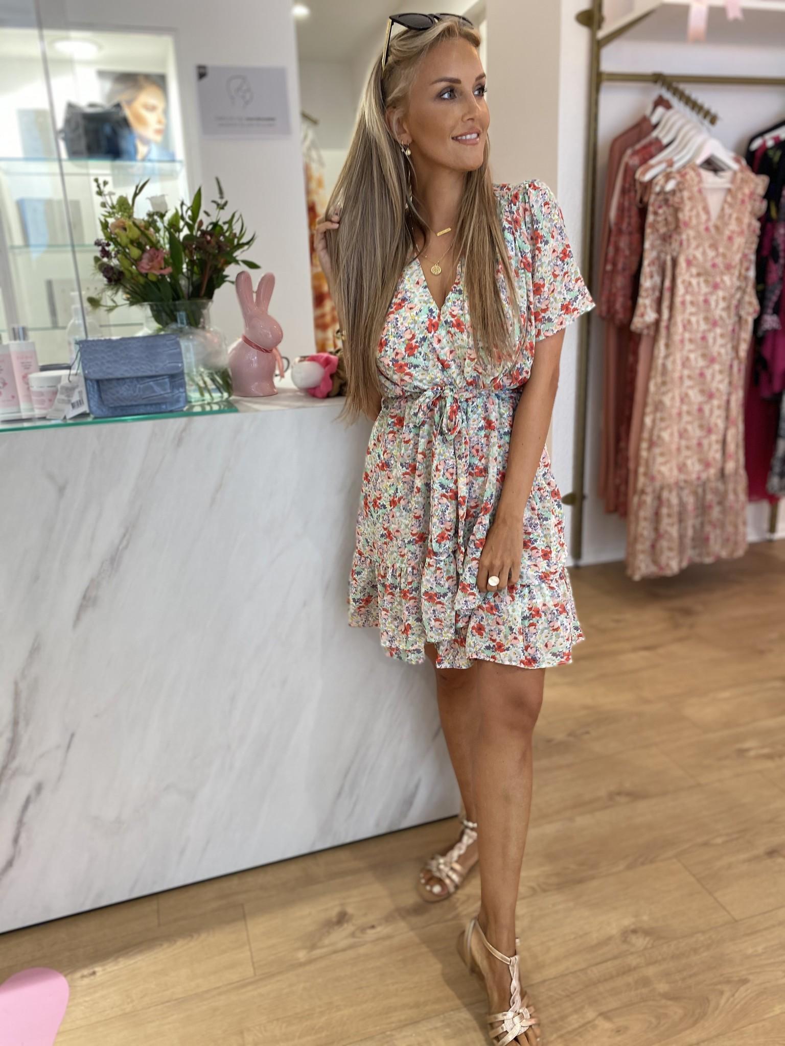 YW Flower Party Dress