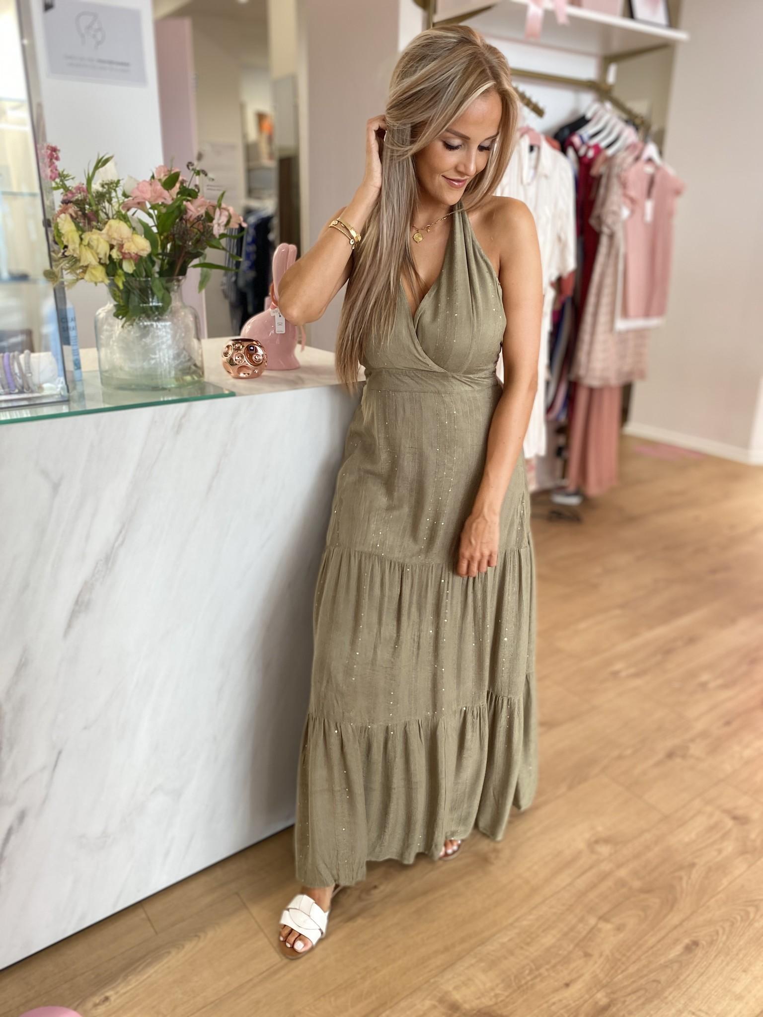 PE Frances Dress Kaki