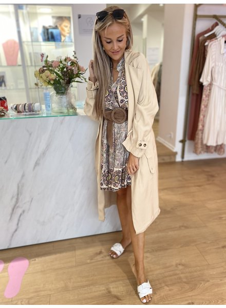PE Gine Trench Beige
