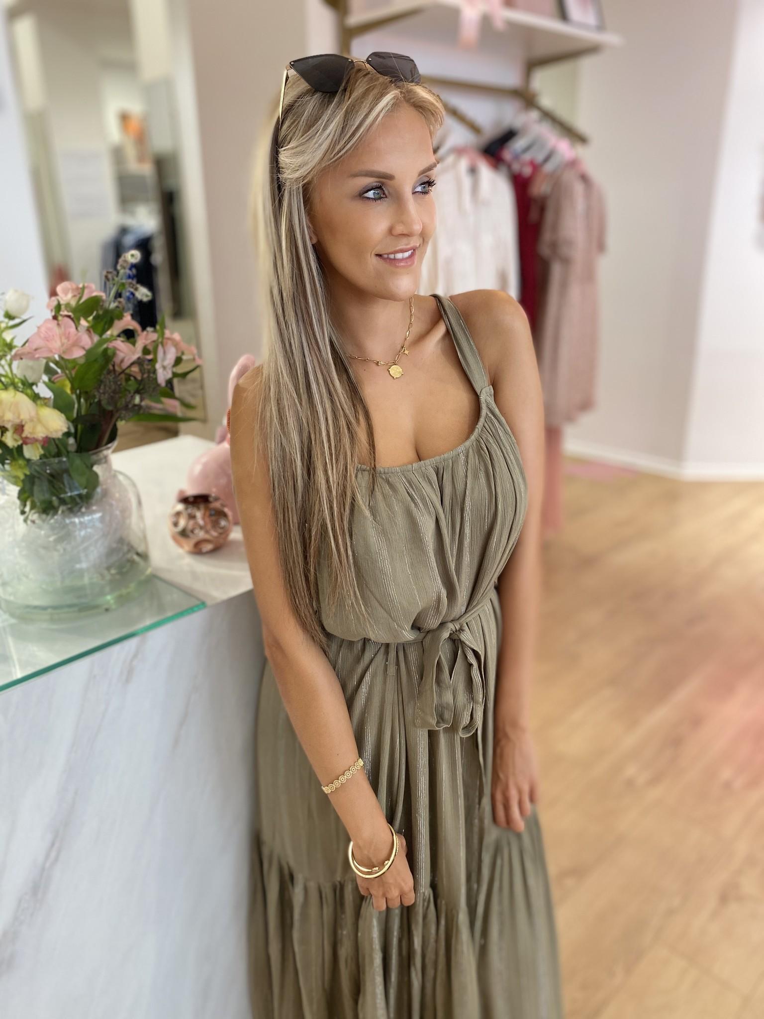 SL Amara Dress Green
