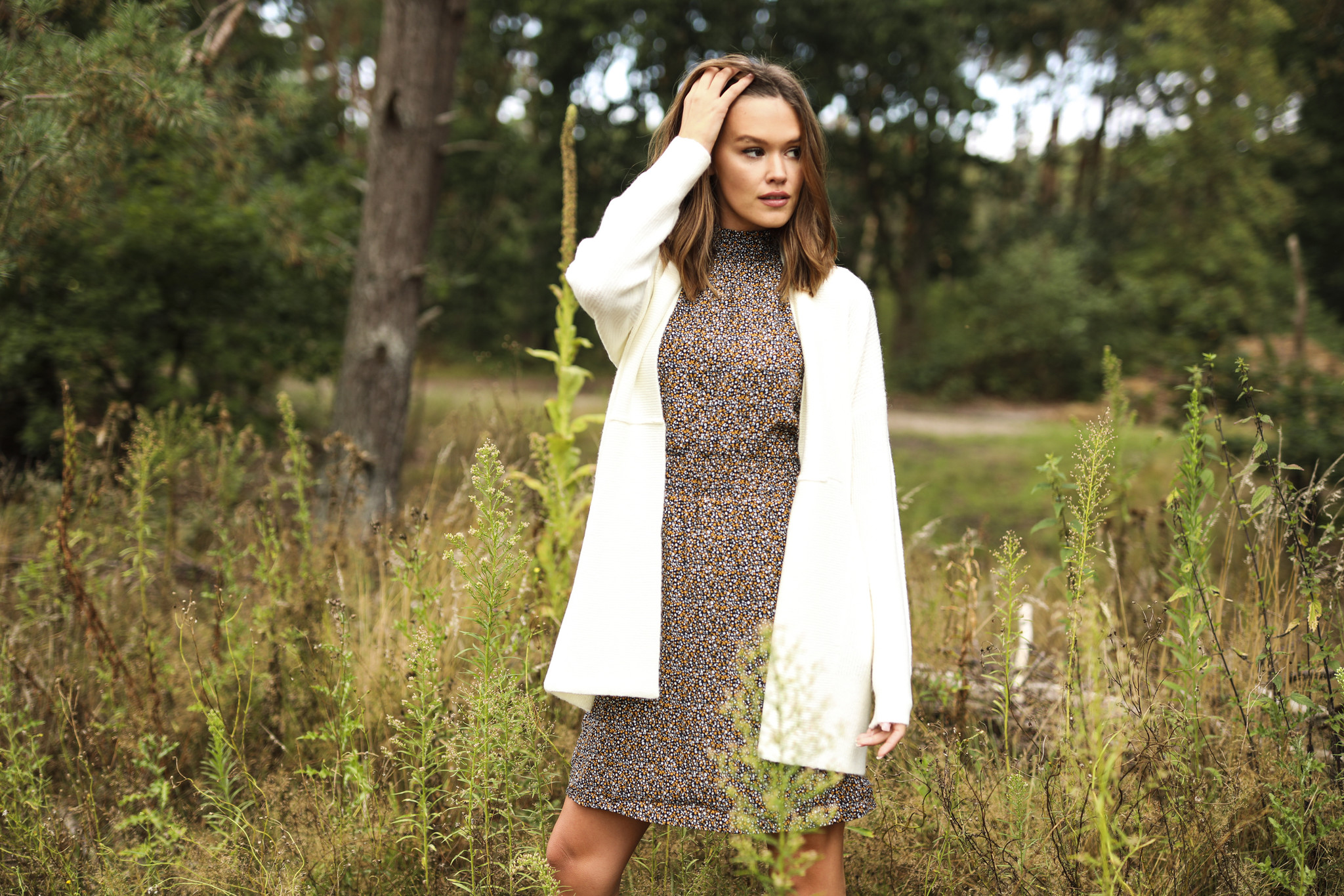 LM Colette Flower Dress Yellow