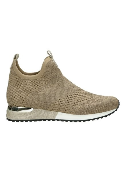 LS Knitted Gold/Silver Sneaker