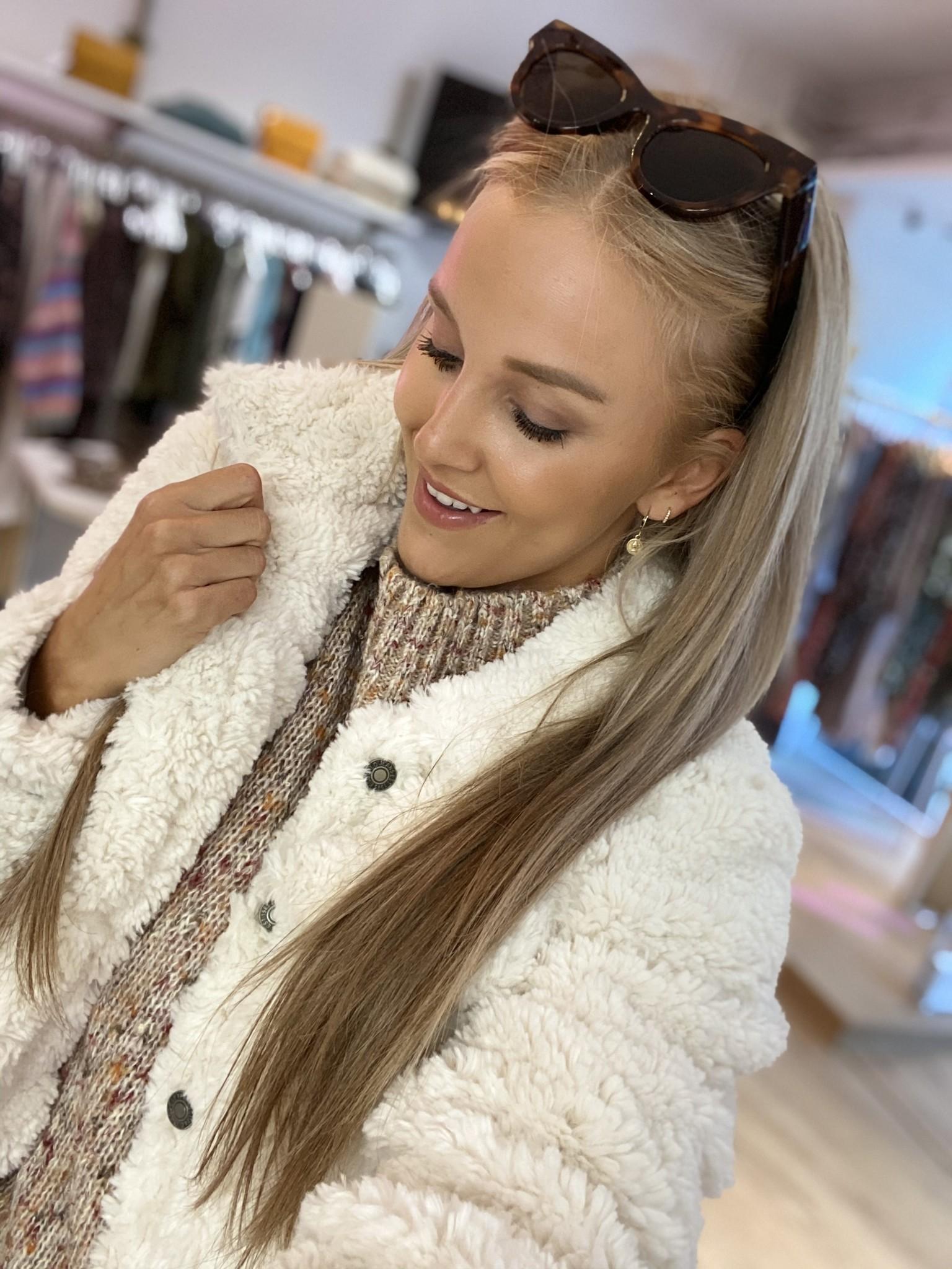 ES Cosy Winter Jacket Off White