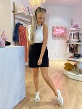 LM Top Amalia White