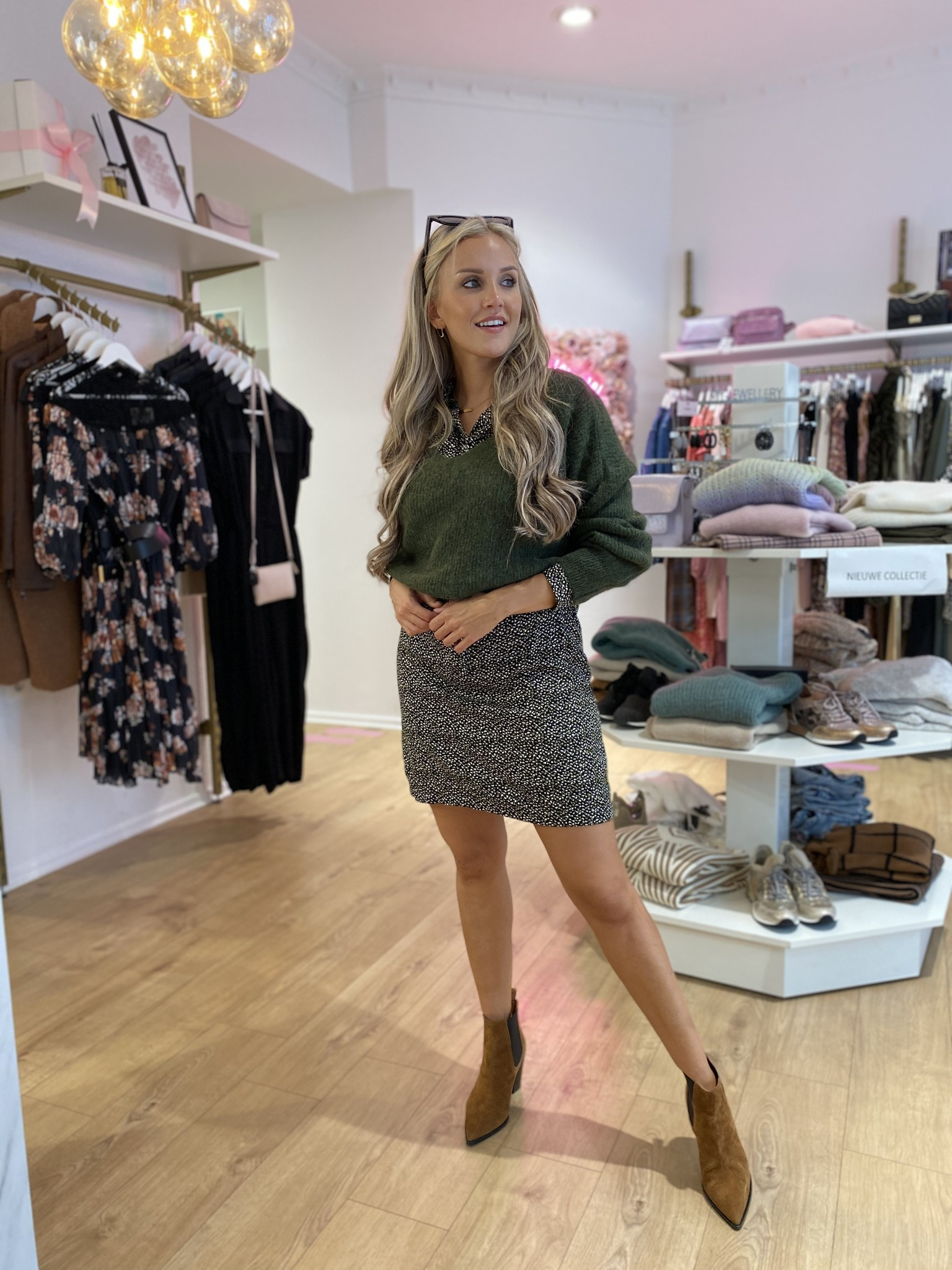 FB Bridget Dress Olive