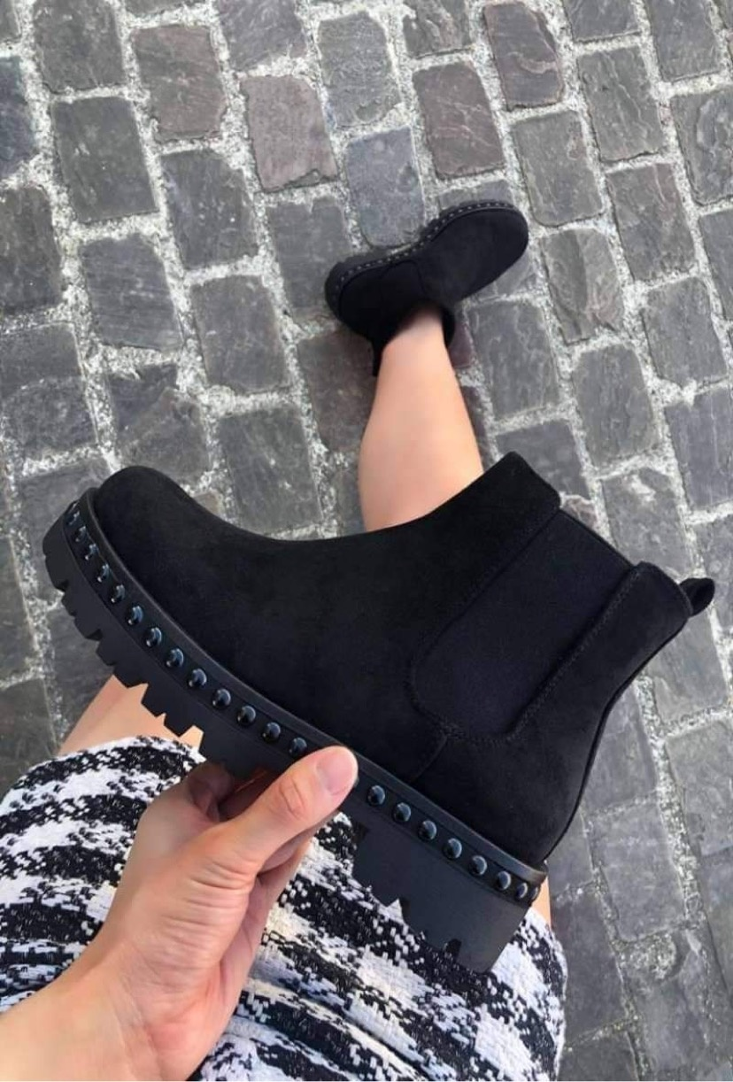 PF Ancle Boots Black