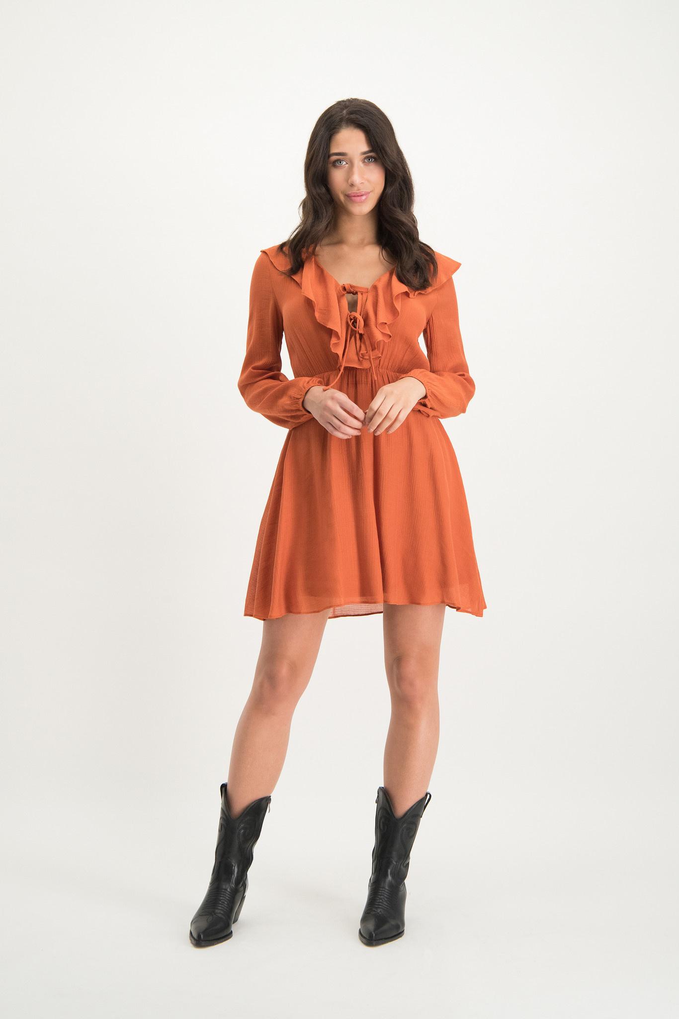 Alexa Dress Orange
