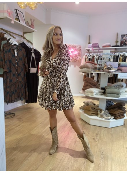 KL Dance With Me Dress Leopard