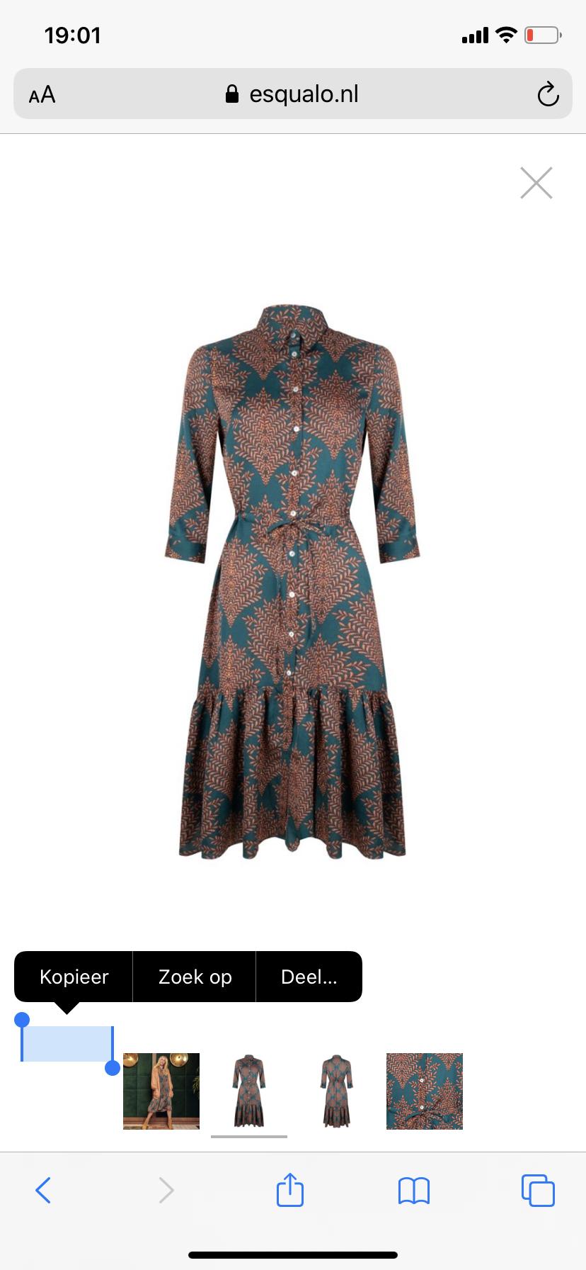 ES Dress Ruffle Paisley