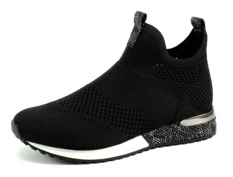 LS Knitted Black Sneaker
