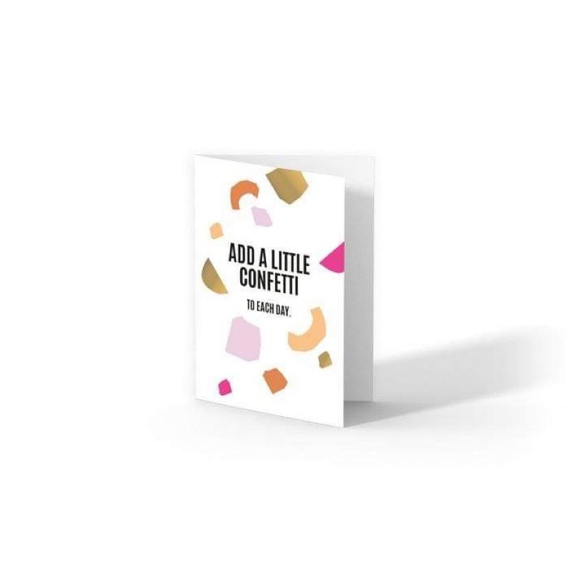 OD Greeting Card Add a little confetti