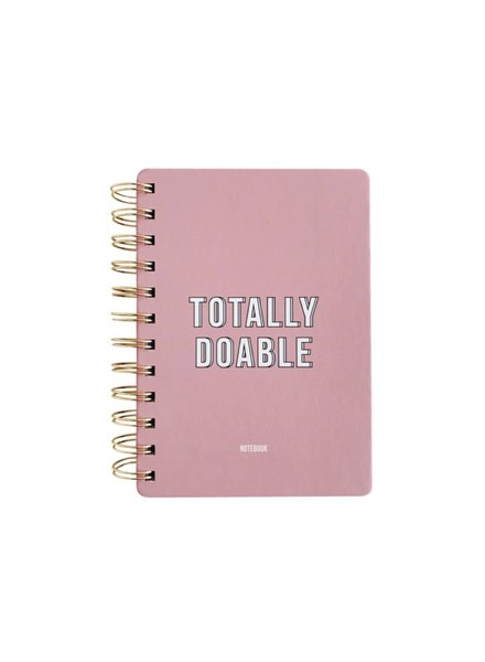 OD Notebook Totally Doable Pink