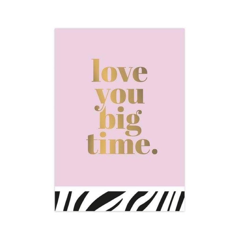 OD Kaart Love You Big Time