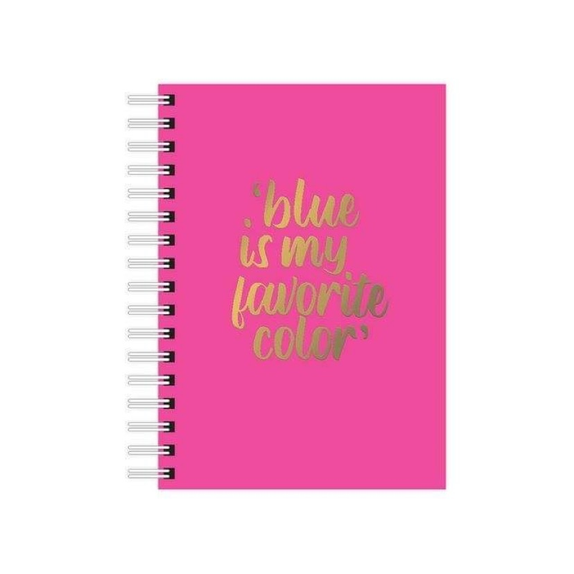 OD A6 Notebook Blue is my favorite color
