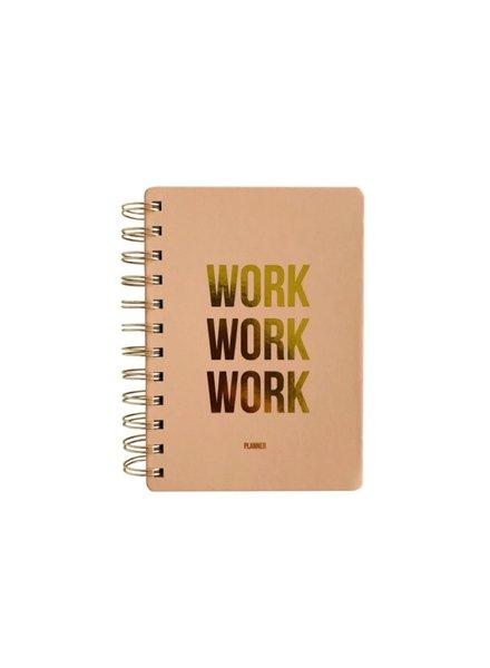 OD Planner Work Work Work Blush