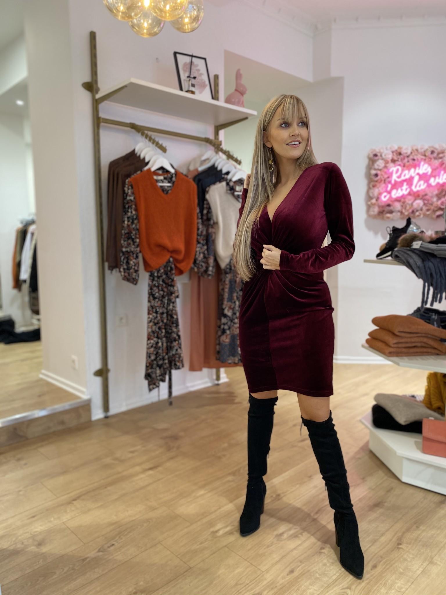 RC Melanie Dress Velvet