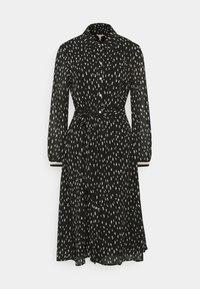 ES Elena Dress double Dot Black
