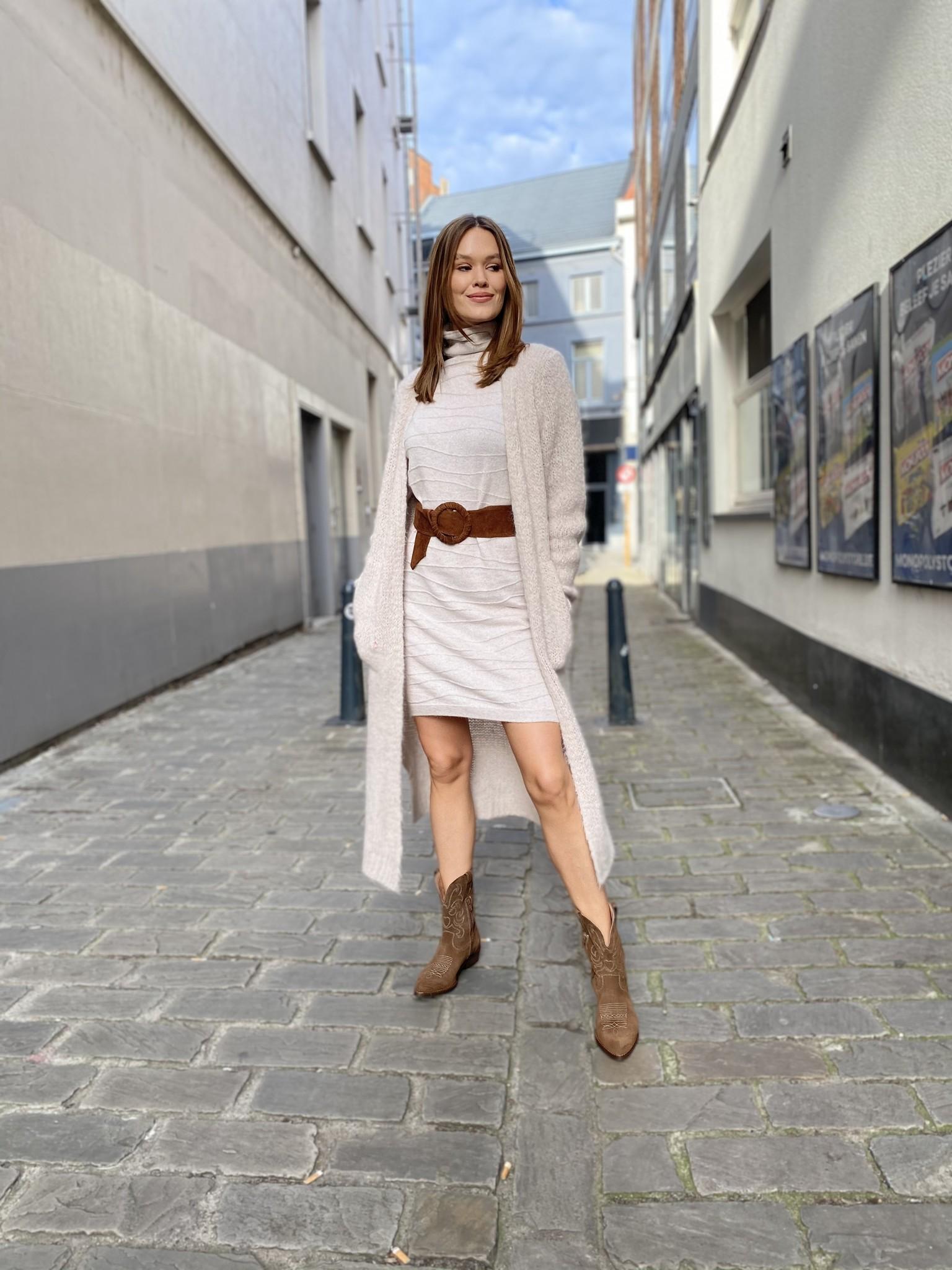 ES Line Dress Lurex