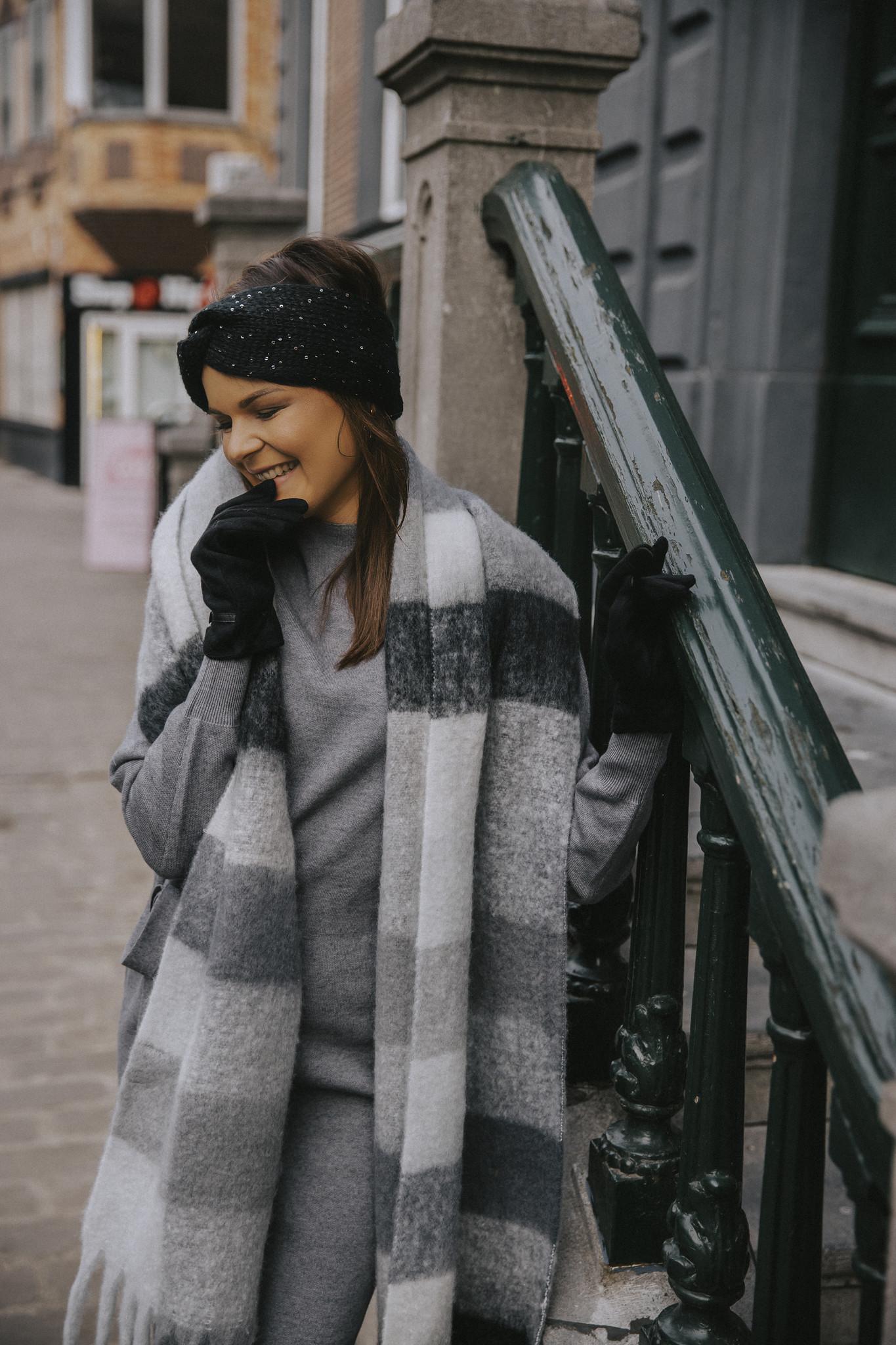 MN Bella Knit Dress Grey