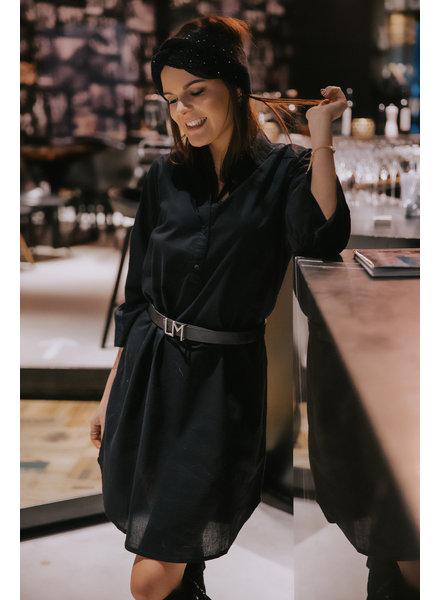 PC Larissa Chemisier Dress Black