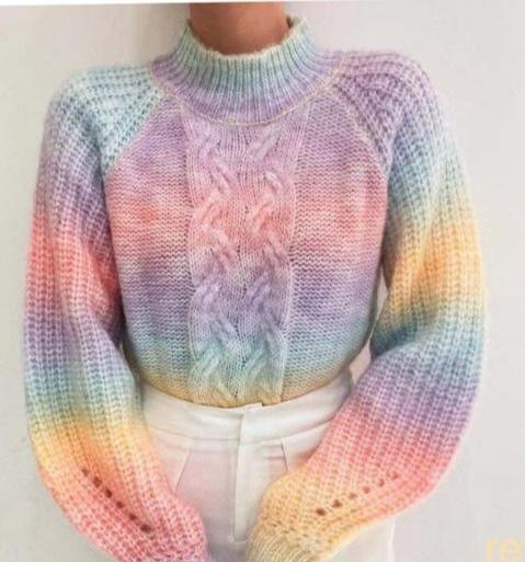 AT Rainbow Sweater Cable