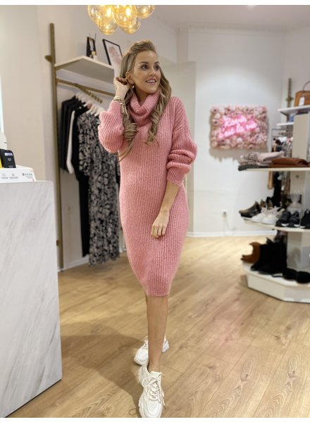AT Sweater Dress Soft Pink