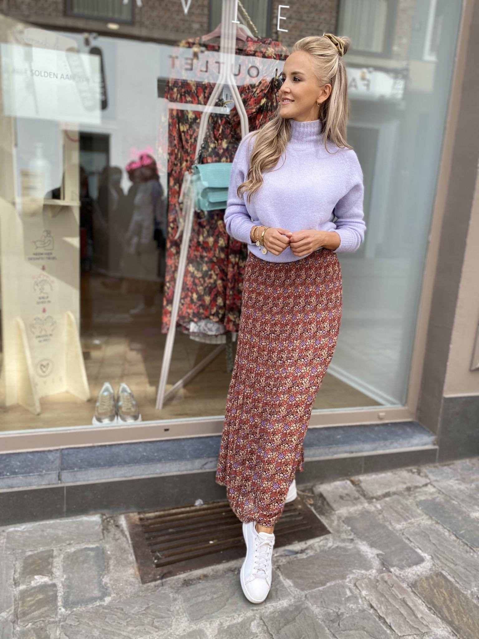 AA Malou Skirt Flowerprint TU
