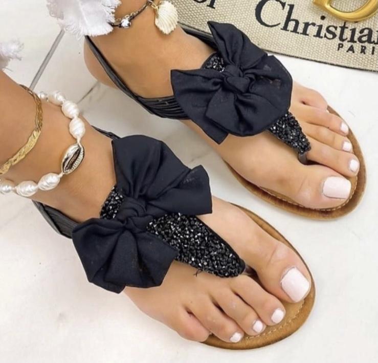 PF Cute Sandals Bow