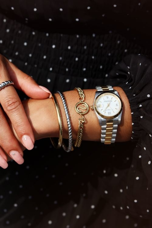 MJ Armband Chunky Initials