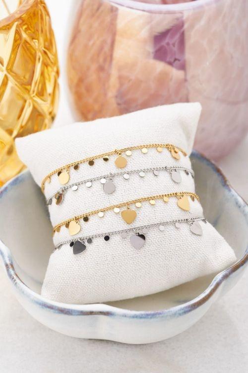 MJ Armbandjes Hartjes & Bedels