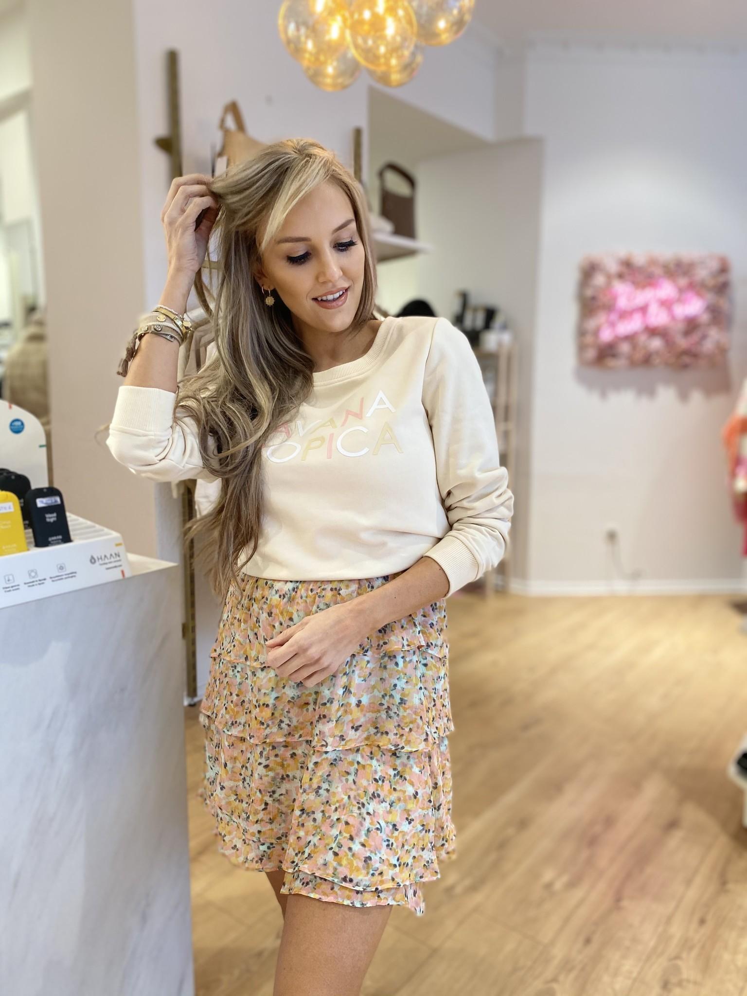 ES Skirt Print Pink/Yellow/Blue