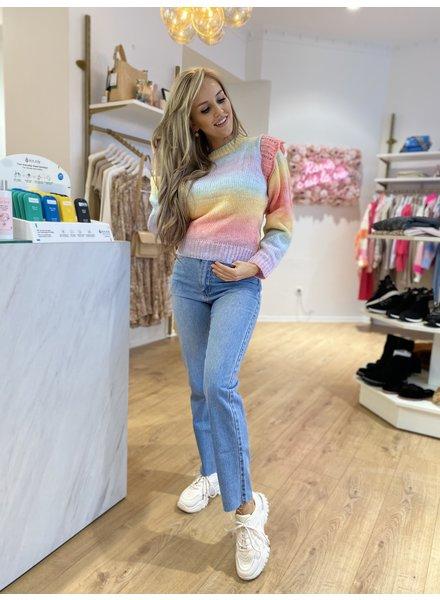 PB Rainbow Sweater Ruches
