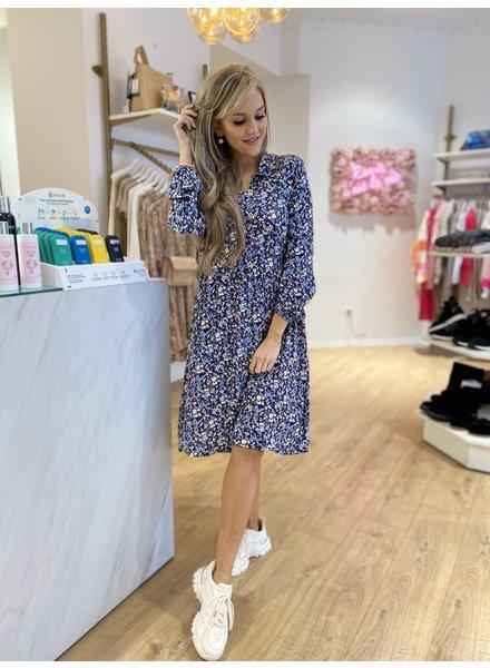 DH Flora Dress Blue