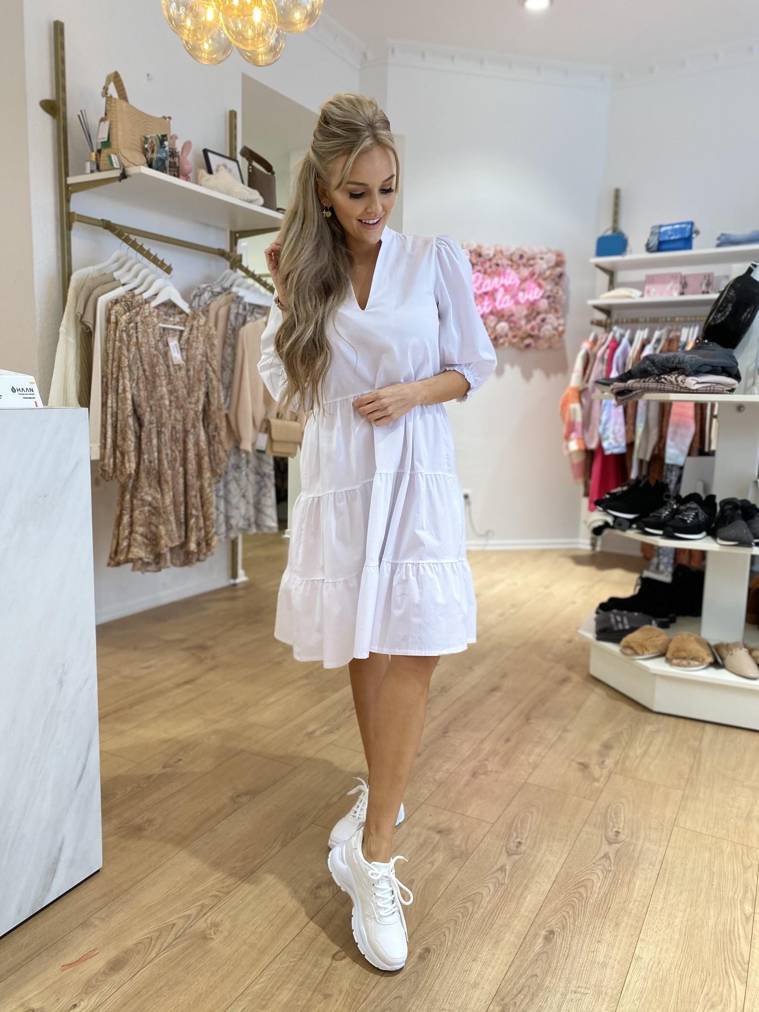 AA Bella White Dress