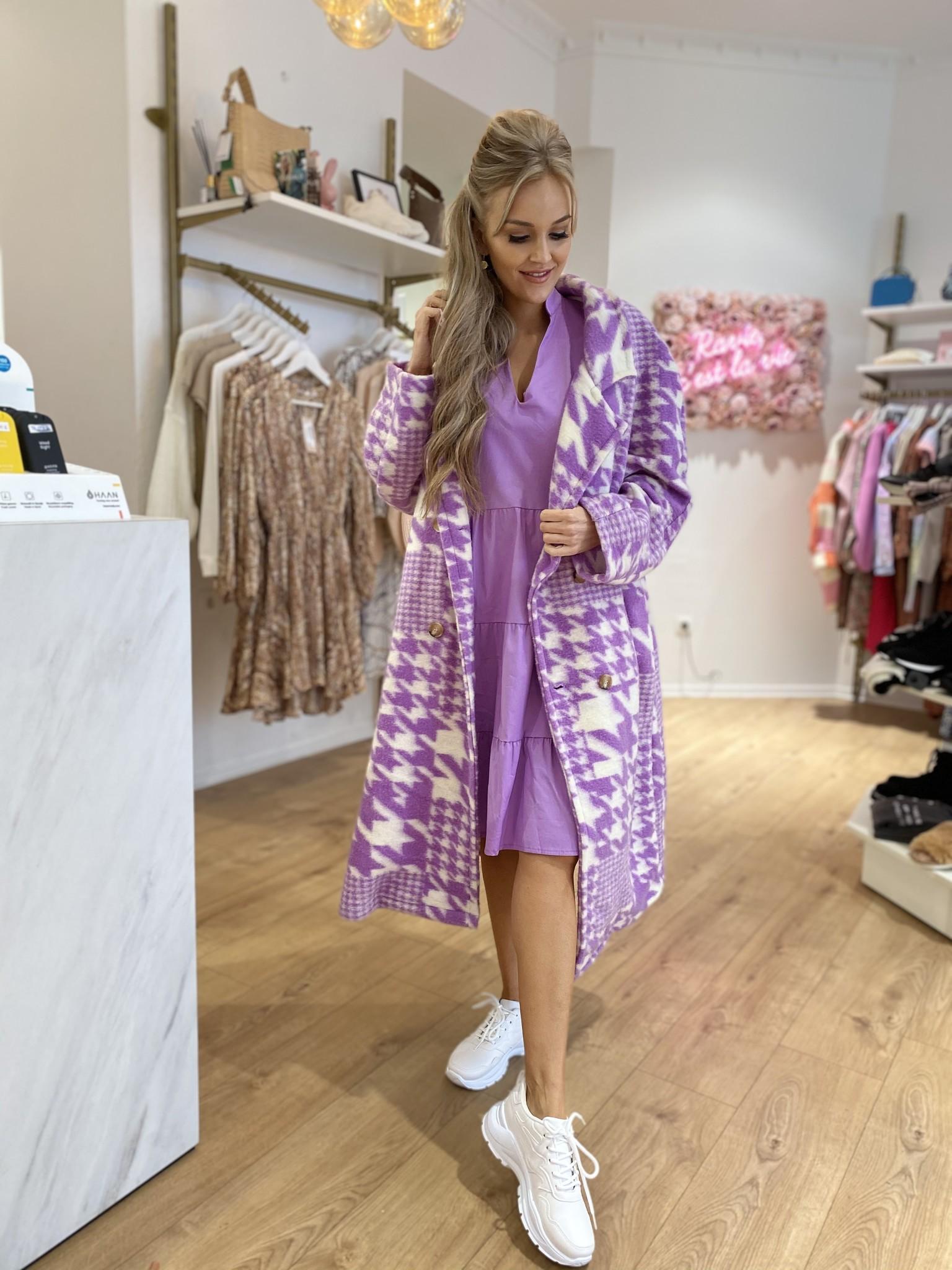 PB Emma Lilac Long Coat