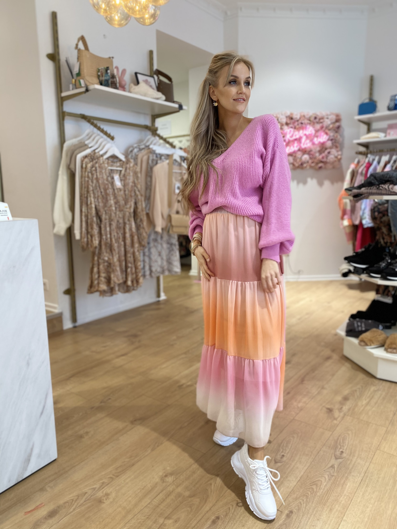 AA Cally Skirt Pastel Colours