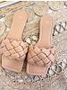 AC Gevlochten Slippers