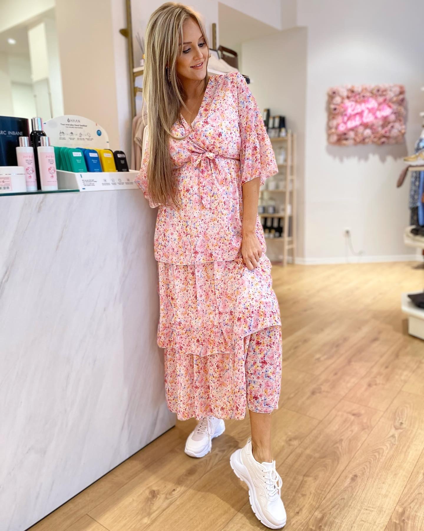 TS Rosanna Ibiza Dress Flowers