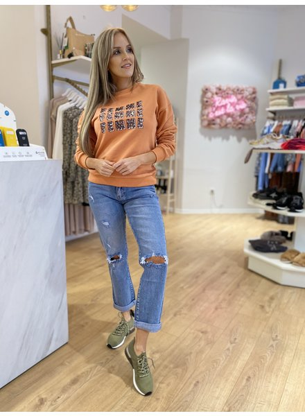 LM Sweater Gwen Peach