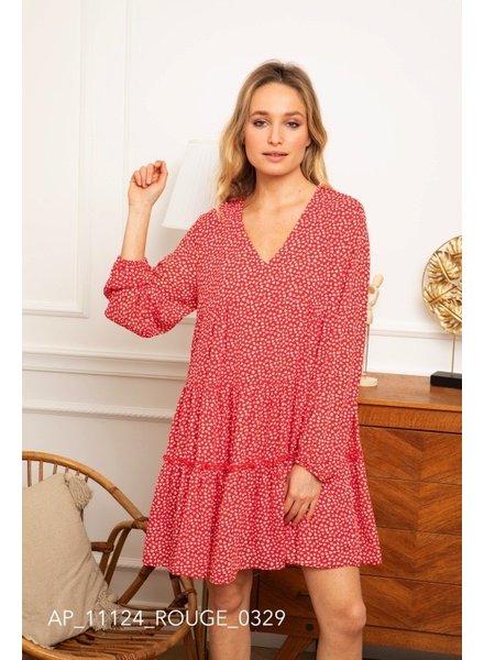 KL Rosy Red Dress