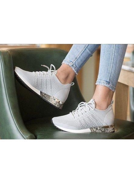 LS Knitted Light Grey Sneaker